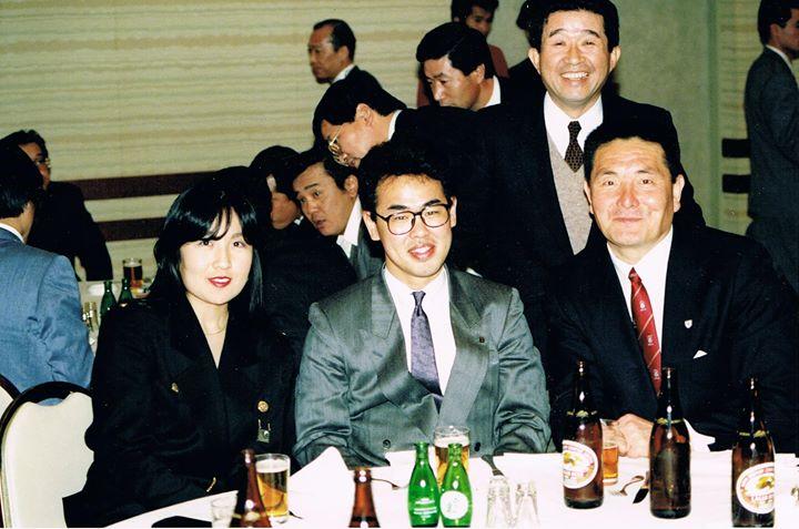 山口良治さんとの思い出の写真です。